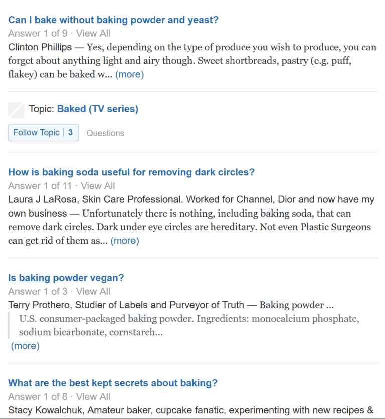 quora-results