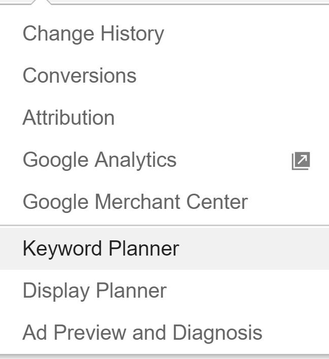 head-to-keyword-planner