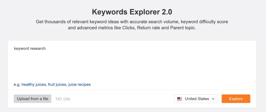 ahrefs-keyword-explorer-enter-seed-keyword