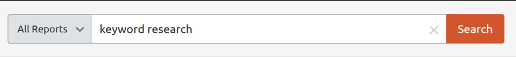 semrush-keyword-search