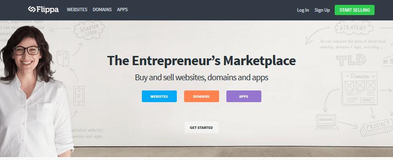 flippa-homepage