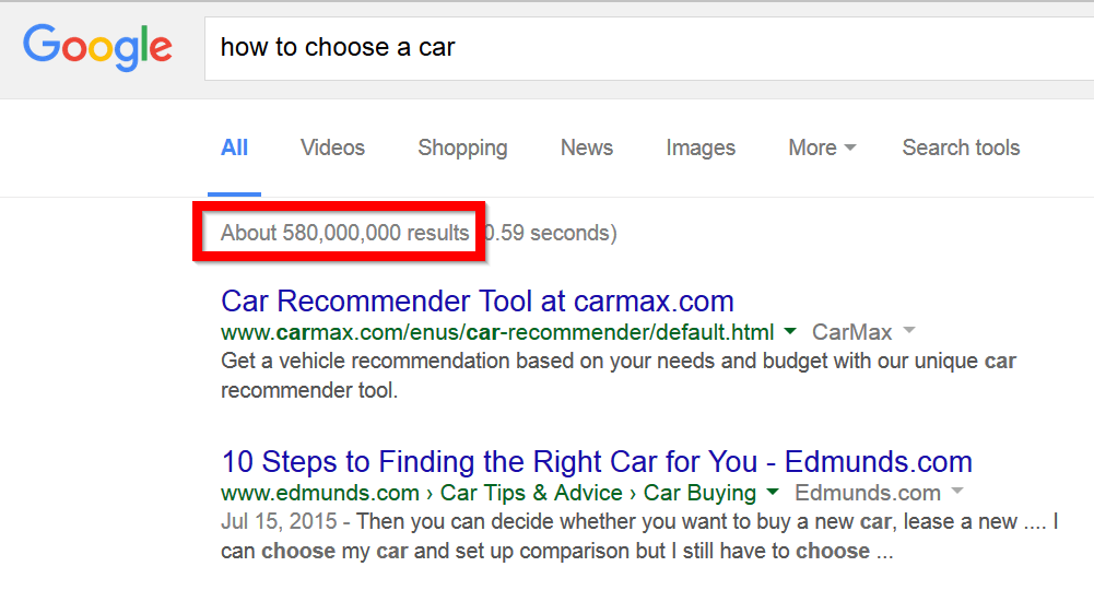 google-number-of-results