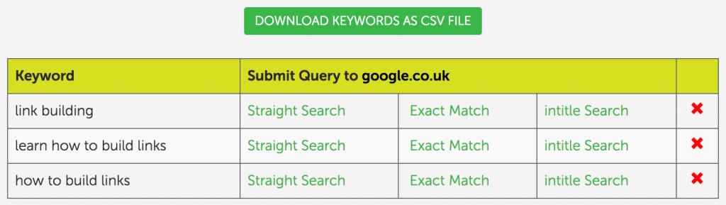 seedkeywords-results