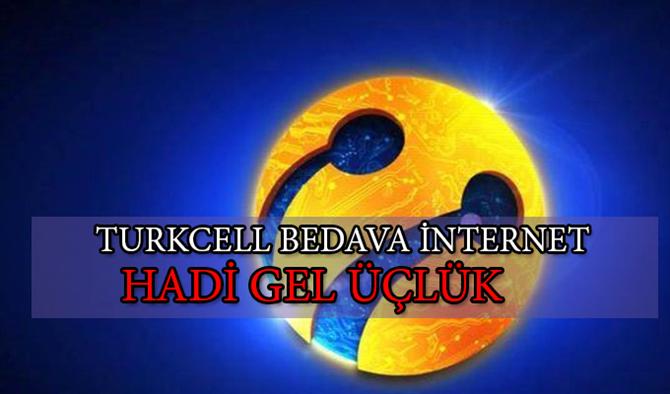 Turkcell 1200 GB Bedava İnternet Kampanyası