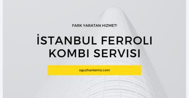 İstanbul Ferroli Kombi Servisi
