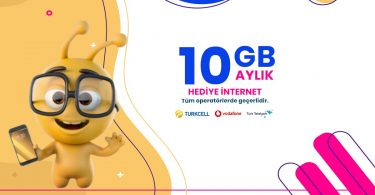 10 gb bedava internet yapma yolları 2020