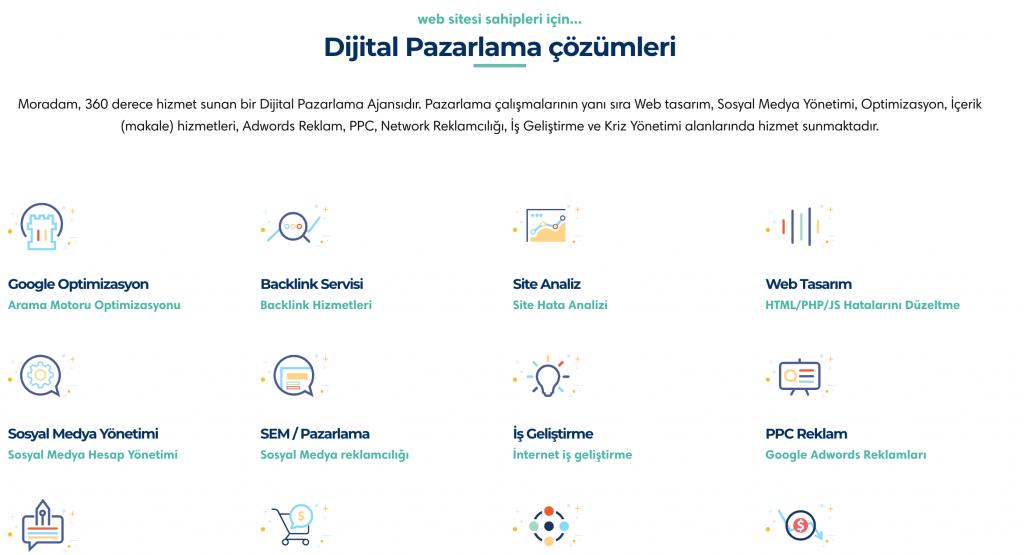 Moradam Dijital Pazarlama Çözümleri