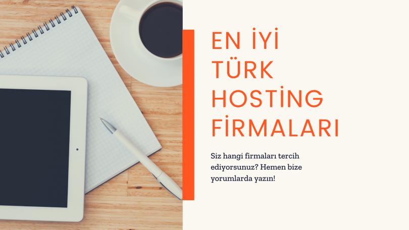 En iyi Türk Hosting Firmaları