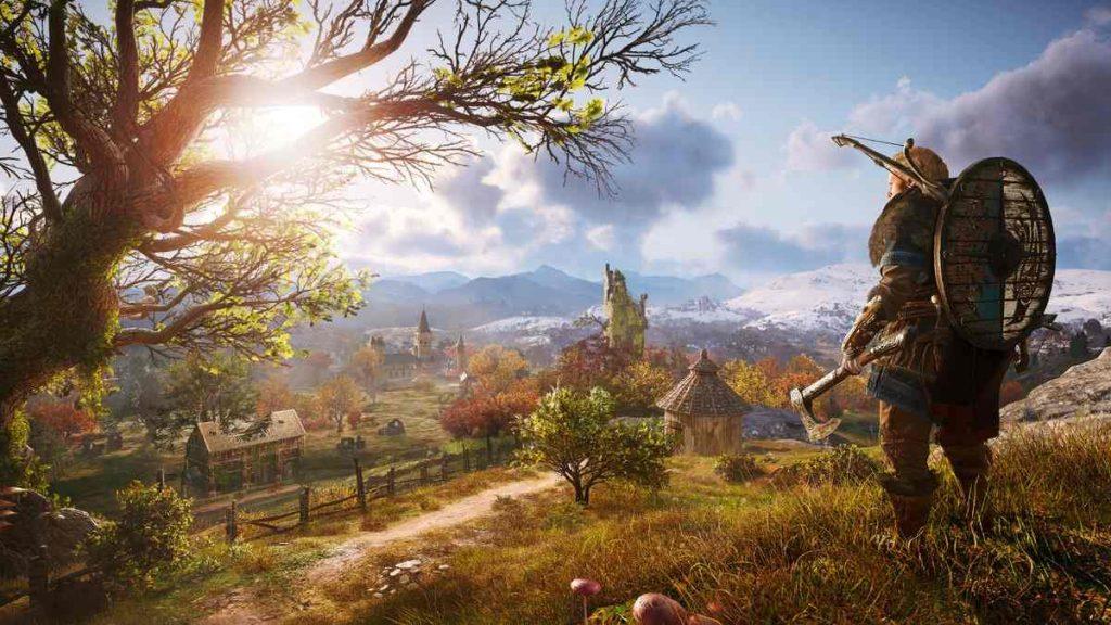 Assassin's Creed Valhalla sarı gemi