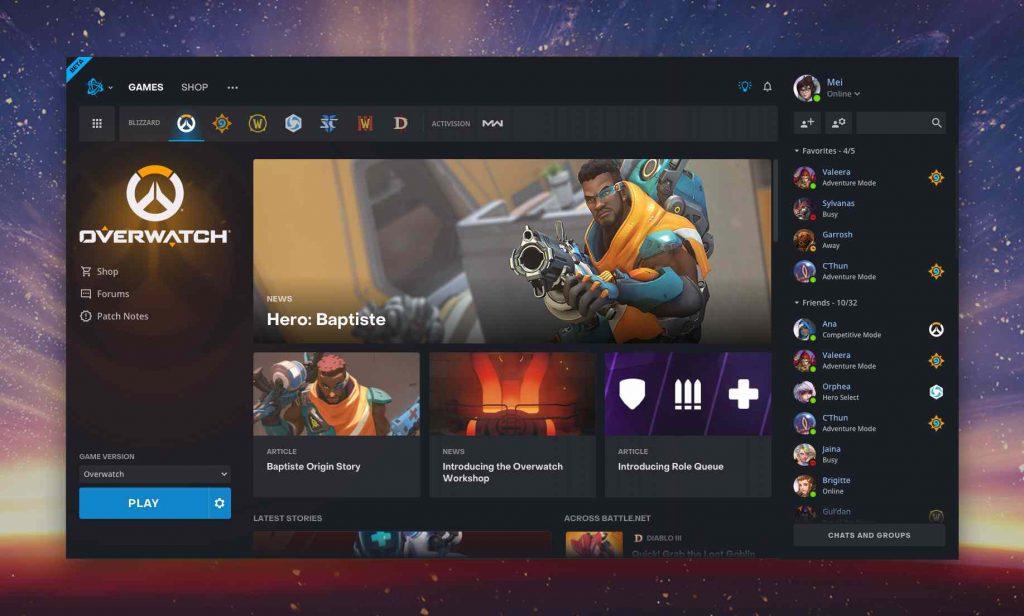 Battle net Uygulama Güncellemesi